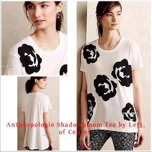 Anthropologie Shadowbloom Tee
